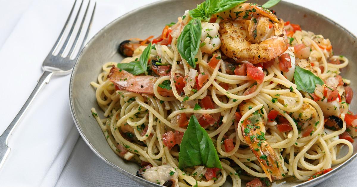 Рецепты блюд со спагетти с фото