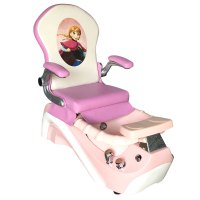 ELSA & ANNA Kid Pedicure Chair - Pink | V-Town Decor