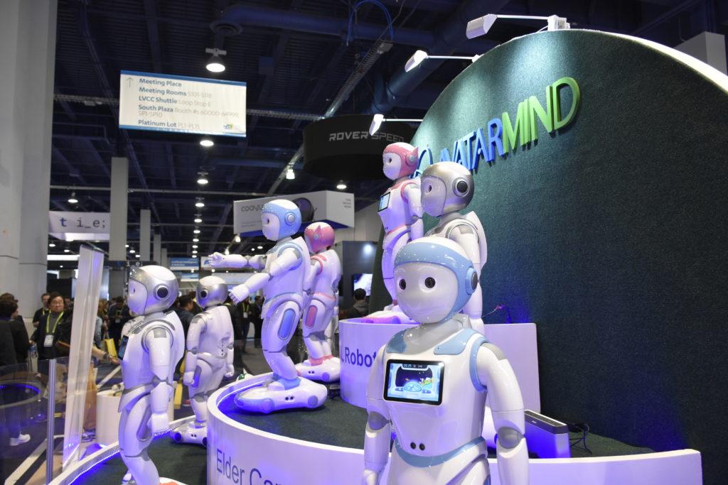 """Résultat de recherche d'images pour """"ROBOTS, CES 2019, Avatarmind iPal"""""""