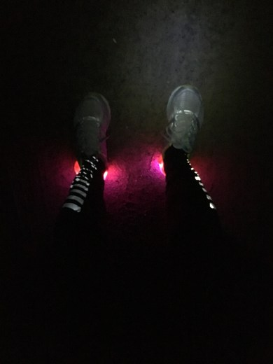 Cool heel lights we picked up...they work great!