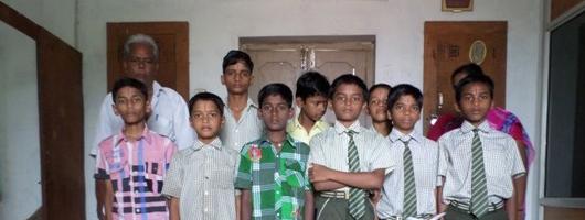 Orphanage Students