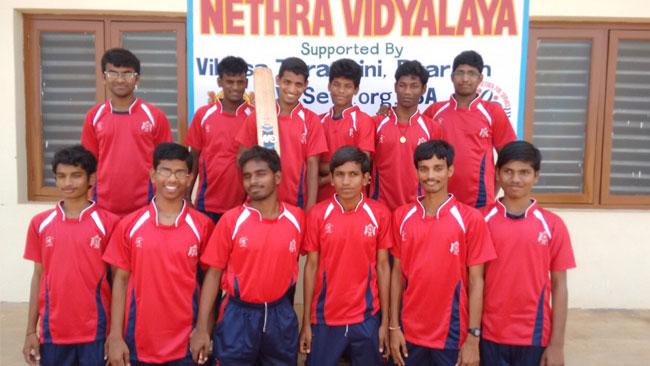 Nethra School WON the State Level Cricket Tournament