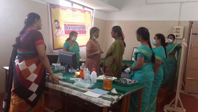 Women Free cancer detection camp news coimbatore