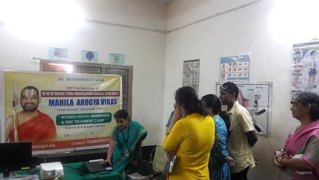 Women Health Care Camp Telugu States Mahila Arogya Vikas Team