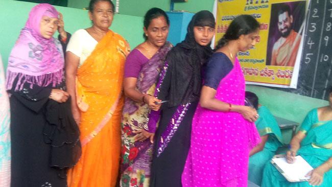 Free Cancer screen women vikasa tarangini Mahila Arogya Vikas