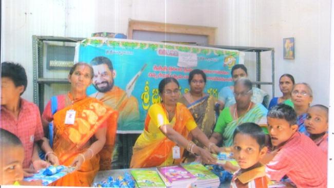 Books Distribution Event in Eluru