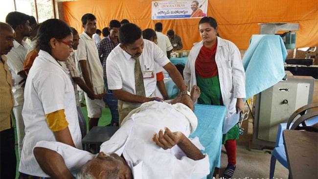 Medical Camp in Central Jail Arogya Vikas Rajahmundry