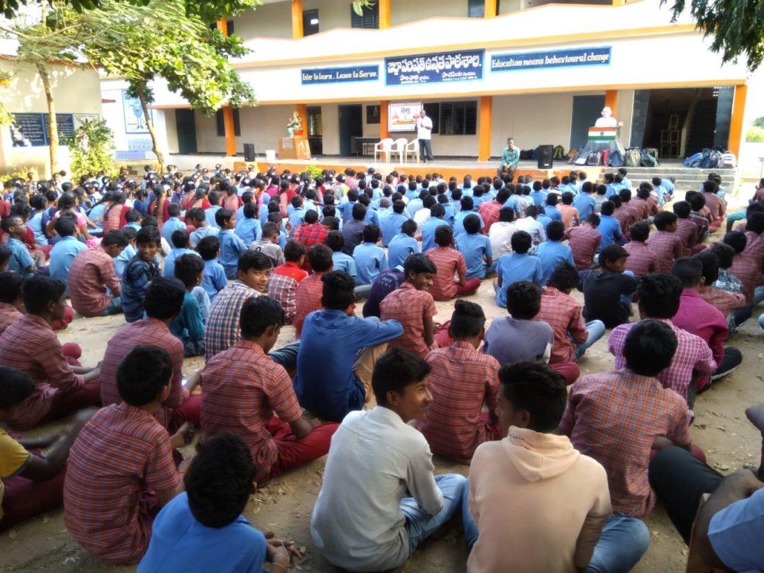 Prajna books distribution and program at paanchali govt high school 5