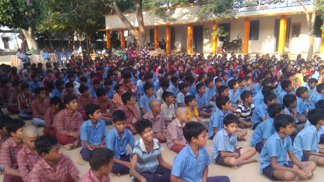 Prajna books distribution and program at paanchali govt high school