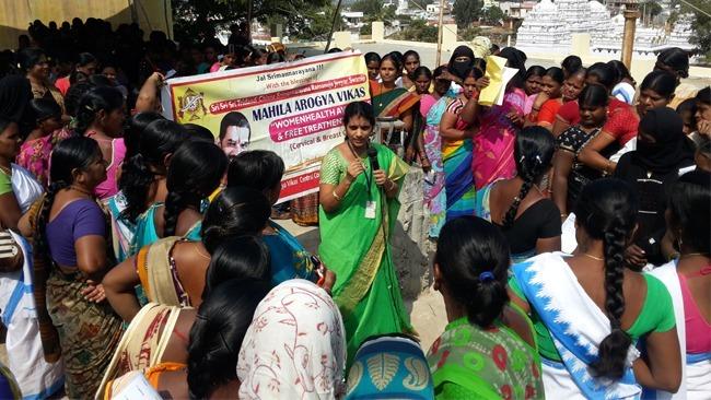 Mahila Arogya Vikas Conducted Medical Camp at Shadnagar