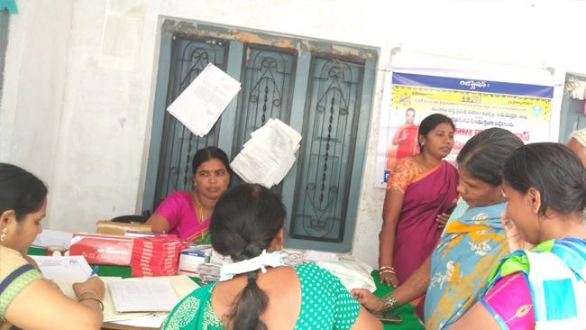 Mahilaarogya Vikas conducted Medical Camp atTadoor Sircilla