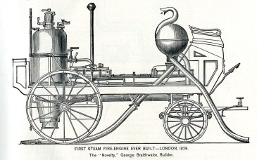 "Braithwiate's ""Novelty,"" London, 1829"