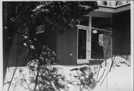 16 Moon Hill Road, Leonard J. Currie Papers, Ms2007-028