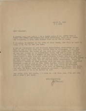 Letter, James T. Farrell to Eleanor Copenhaver Anderson, April 8, 1952