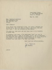 Letter, James T. Farrell to Eleanor Copenhaver Anderson, May 25, 1952