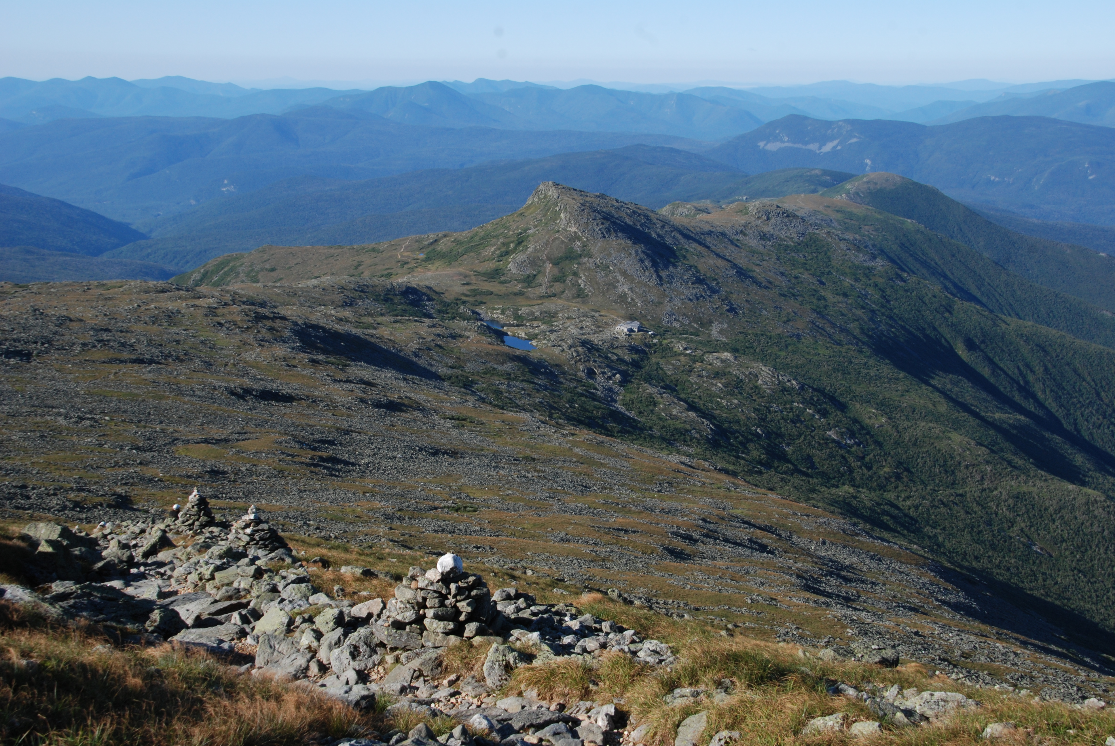 Ldensmore Nh Presidential Traverse Lakes Of The Clouds