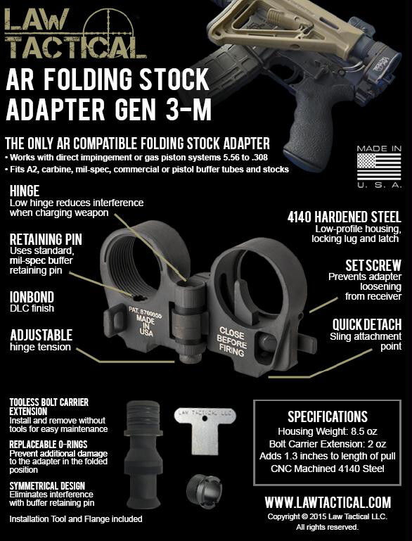 Available NOW! The ONLY AR Folding Stock - Tactical Sh*t