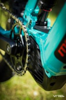 Qui dit nouvelle intégration, dit nouvelle motorisation Bosch Performance CX...