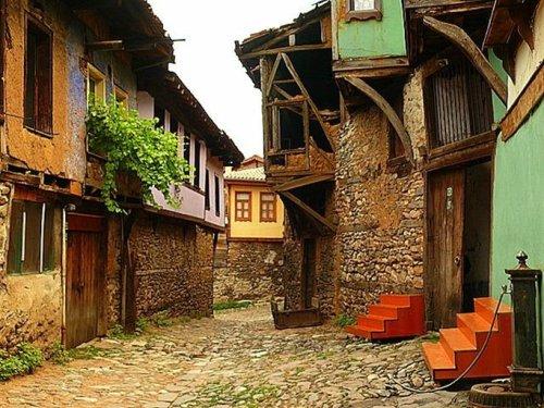 Những ngôi nhà cổ đặc trưng của đế chế Ottoman ở làng Cumalikizik