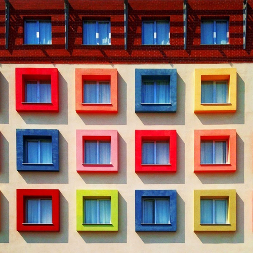 những mảng màu rực rỡ ở istanbul