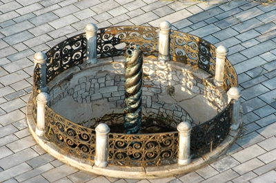cột rắn đá tại quảng trường hippodrome