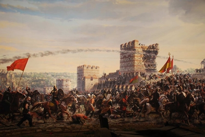 trận chiến constantinopolis năm 1453