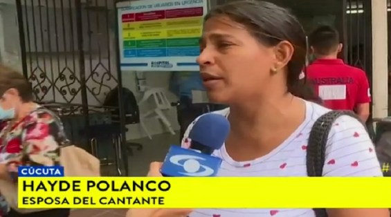 Hospital de Colombia no atiende y deja morir a cantante Fernando Colina por ser venezolano (Fotograma Caracol)