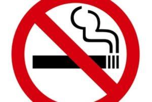 圖:卑詩「清潔空氣聯盟」趁著反吸菸月,推動在卑詩省內引入禁止在多戶物業的屋苑內吸菸附例。(看中國)
