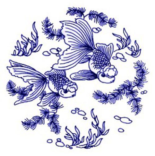 A goldfish wagging its tail. (Image: NTDTV)