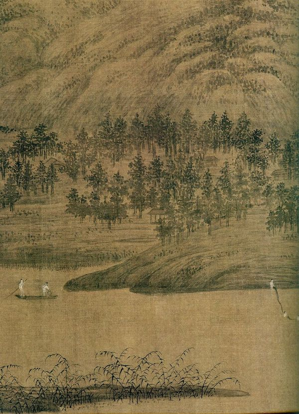 Dong Yuan founded the Southern-style school of landscape painting.