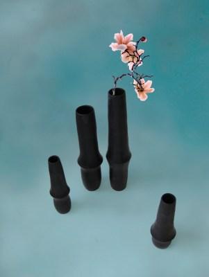 Dandelion, ceramic vase, keramík vasi, hönnun