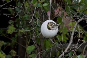 Fuglagjafi, bird feeder, ceramic, keramík hönnun