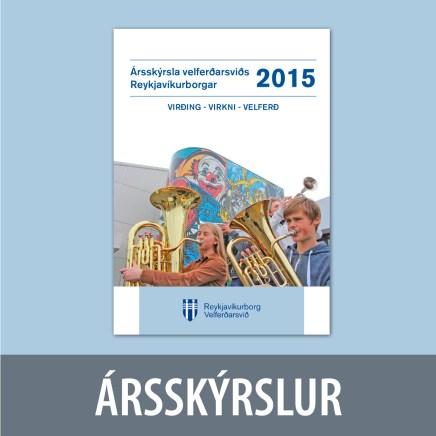 Ársskýrsla fyrir Velferðarsvið Reykjavíkurborgar