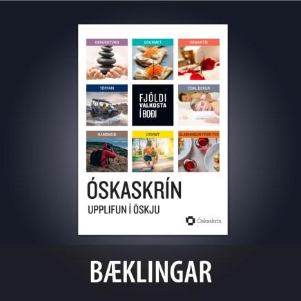 Bæklingur fyrir Óskaskrín
