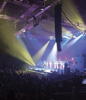 HAS al-8 &al-4 System for Ramon Ayala at Star of The Desert Arena