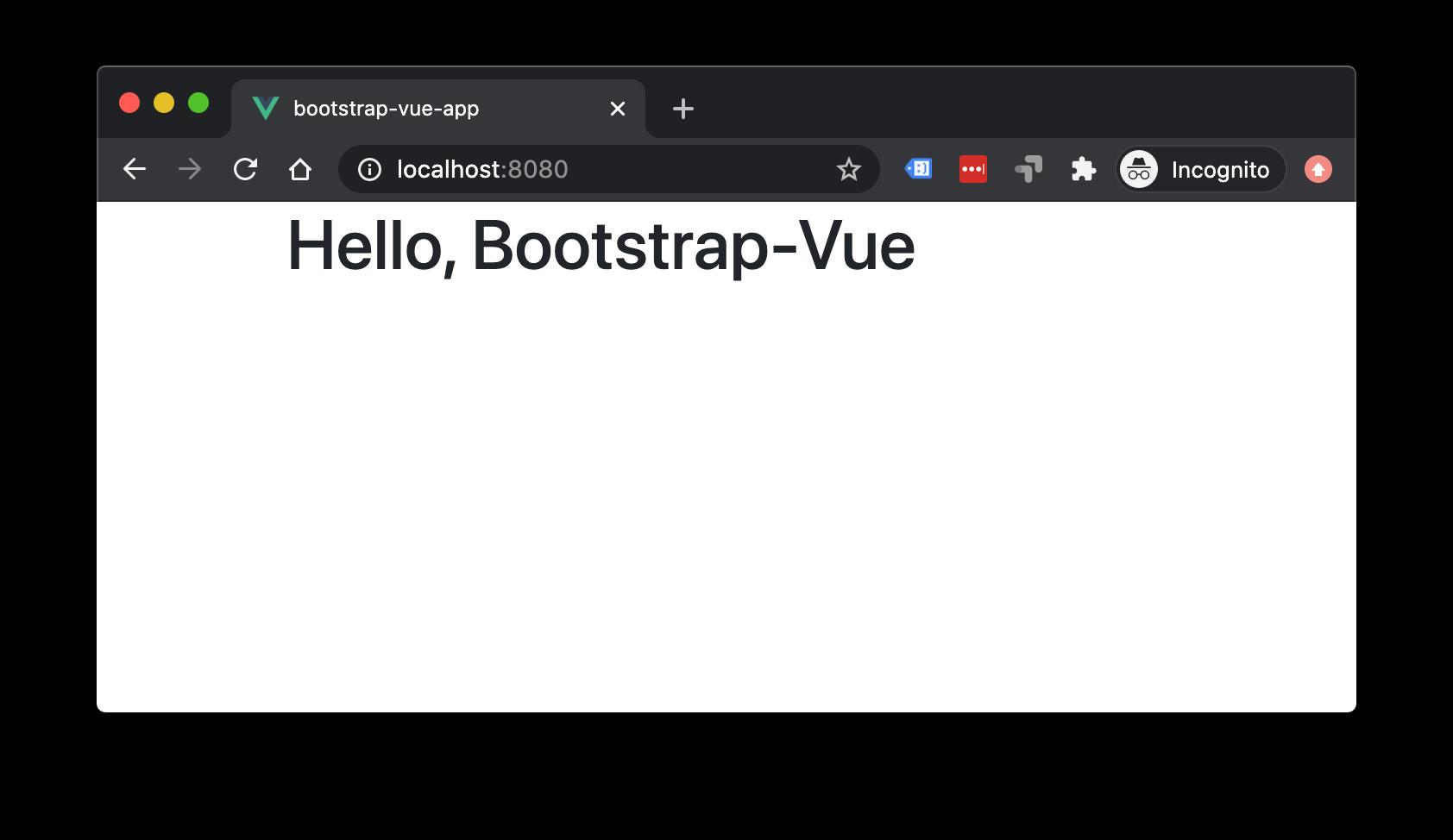 Build a Bootstrap 4 & Vue App - Vue.js Developers
