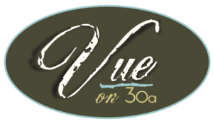 Vue on 30a Logo