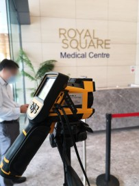 Thermal Camera at Customer Marina Square Medical Center
