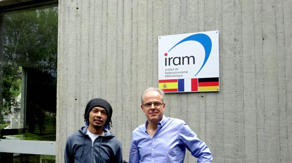 Research to IRAM - Institut de Radioastronomie Millimétrique - 20