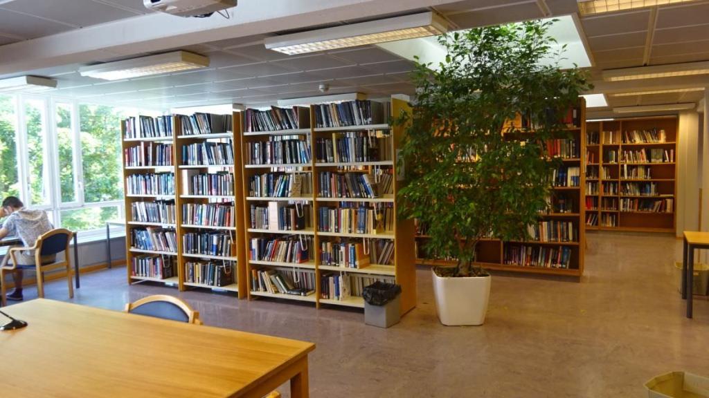 visiting CERN library 25