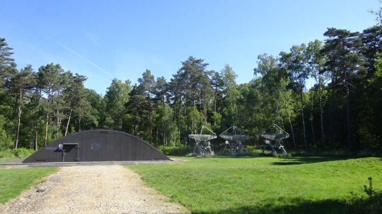Research to Station de Radio Astronomie de Nançay - 22
