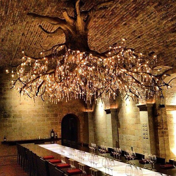 Amazing Design Grape Vine Chandelier 2