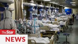 Bệnh viện dã chiến điều trị Covid 19 tại Vũ Hán