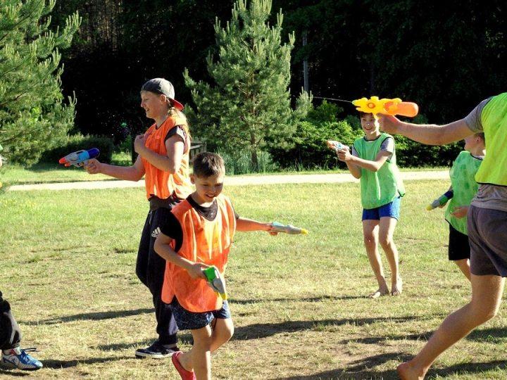 vaikų stovykla