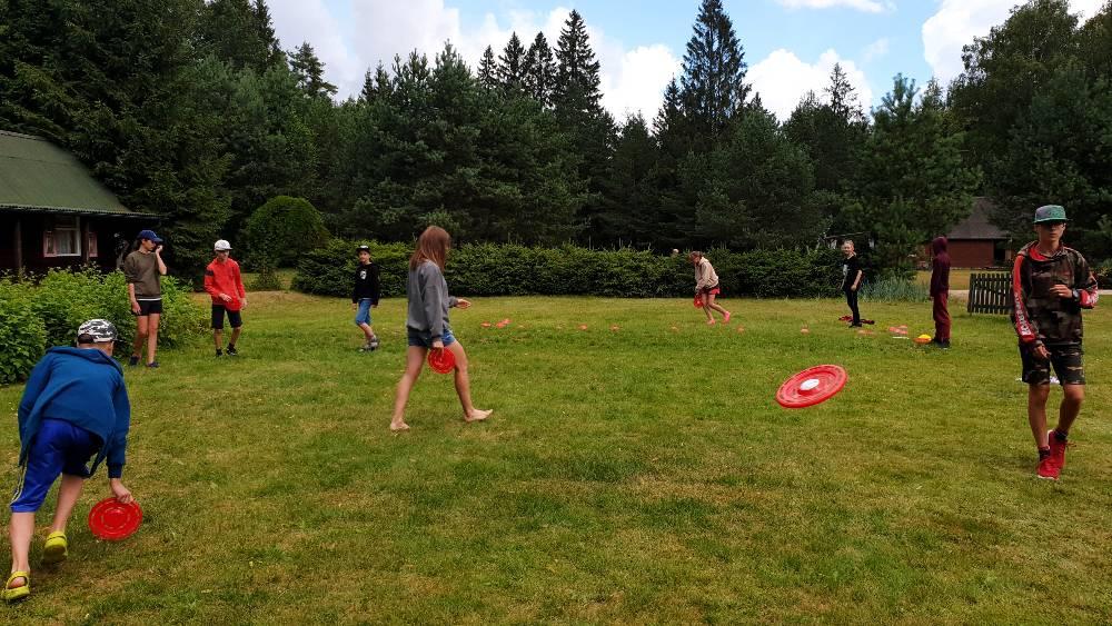 """Sporto stovyklų """"Sportyn"""" akimirkos. Vaikų aktyvaus laisvalaikio stovykla"""