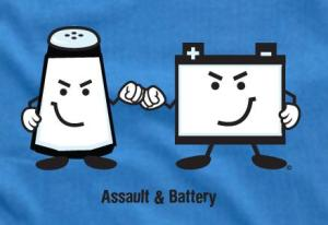 Assault and Battery in California
