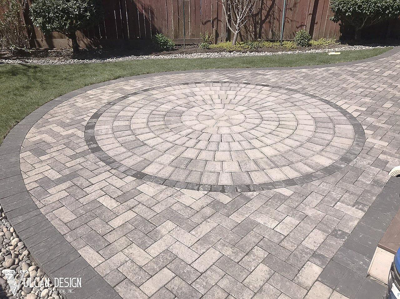 paver stone patio installation vulcan