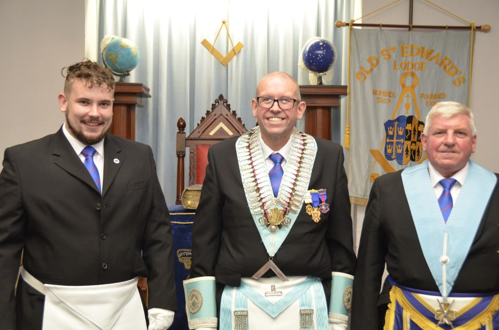Picture of Bro Ben Prior with his Proud Uncle and Grandfather