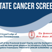Alfreton Freemason organises Prostate Cancer Test for Derbyshire
