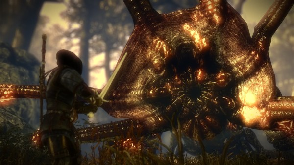 The Witcher 2 Kayran